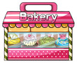 A bakery selling baked goodies