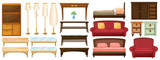 Different furnitures