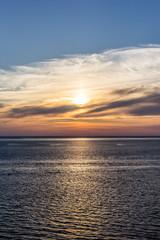 Coucher de soleil sur Bassin d'Arcachon