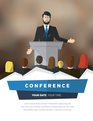 Conference illustration