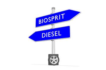 Biosprit vs Diesel