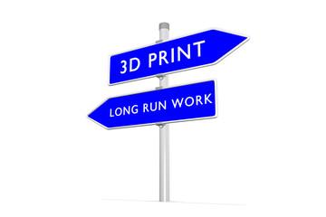 3d print vs long run work