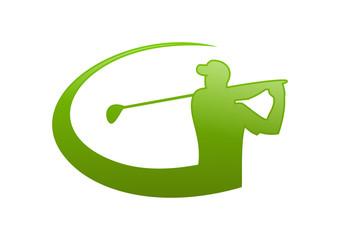 green golf logo