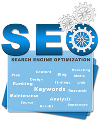 SEO Squares Bottom Blue