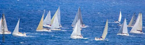 In de dag Jacht Regatta