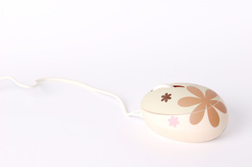 design computer mouse on white background