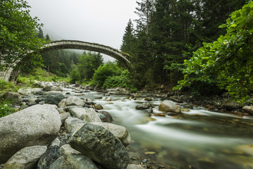 Stone Bridge, Rize, TURKEY
