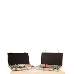 zwei Pokerkoffer