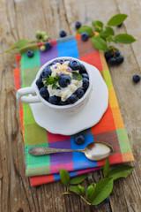 Blueberries - summer dessert