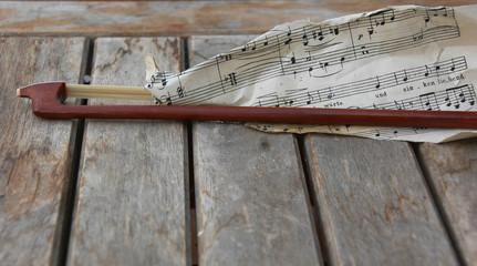 Geige Streichbogen