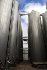 big aluminum containers