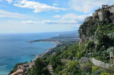 East Sicilian coast