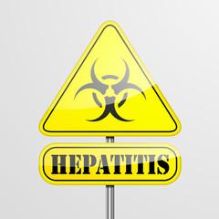 Yellow Hepatitis Warning Sign