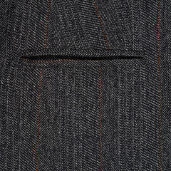 Fragment of a gray suit