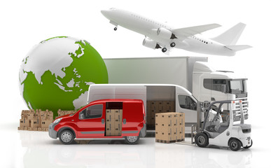 Trade in Asia - Transport