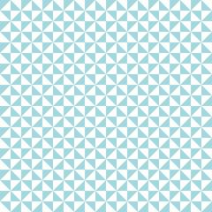 Retro Corners Seamless Pattern Turquoise