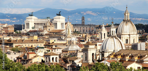 Fotobehang Rome Beautiful panorama of Rome, Italy
