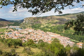Views of Ezcaray village, La Rioja, Spain.