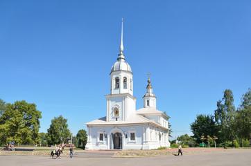 Церковь Александра Невского в Вологде, 18 век