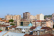 Bird's-eye view on a central Yerevan. Armenia