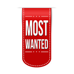 Most wanted banner design