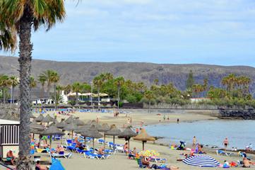 Playa de las Vistas. Los Cristianos. Tenerife