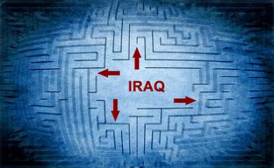 Iraq maze