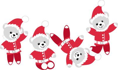 Oursons Père Noël