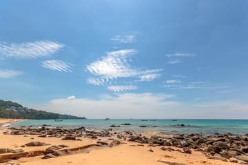 Paradisiac beach of Patong, Koh Phuket