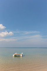 Paradisiac beach of Nai Yang Koh Phuket