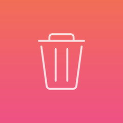 Delete  - Finely crafted line icons