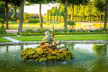Wasserspiel, Schlossgarten Schwetzingen
