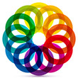 Colored Rings Icon