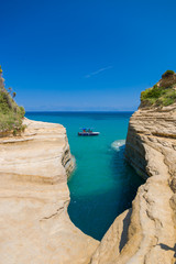 Sidari Canal d'amour Corfu island