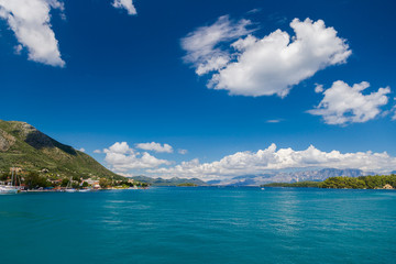 Nidri on Lefkada island
