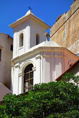 Eglise saint-Erasme de Bonifacio en Corse du sur