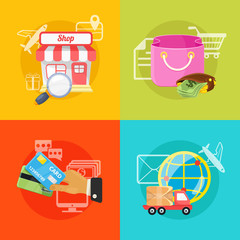 Vector E Commerce Illustration
