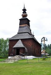 Old Wooden Church, Slovakia, Europe