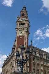 Beffroi - Place du theatre, Lille, France