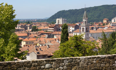 Gorizia from its Castle Park