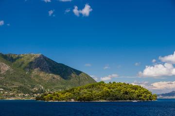 Madouri island in Nidri Lefkada