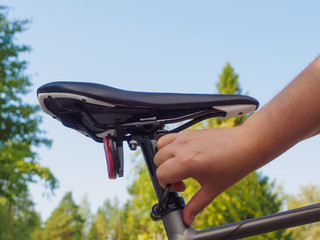 Adjusting A Bicycle Seat