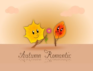 Autumn romantic