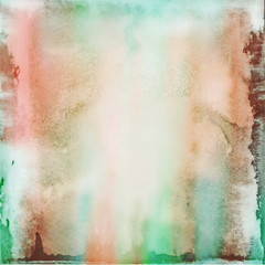 Abstract colorful grunge wall background