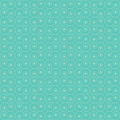 Wallpaper abstract circle line seamless pattern