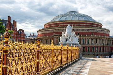 Royal Albert Hall from Kensington Gardens, London