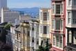 San Francisco, USA - Nob Hill neighborhood