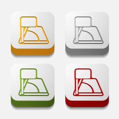 square button: angle