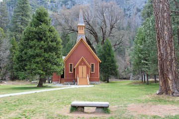 Yosemite Valley Chapel, USA
