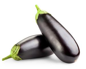 Black eggplants
